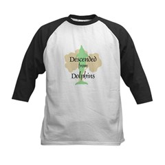 Descended from Dolphins Tee