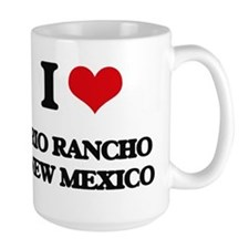 I love Rio Rancho New Mexico Mugs