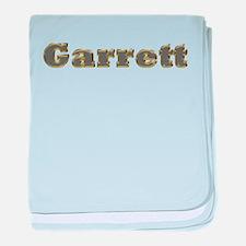 Garrett Gold Diamond Bling baby blanket