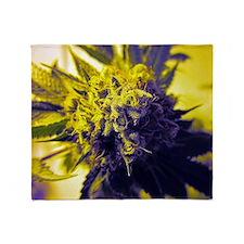 Kush Cannabis Throw Blanket