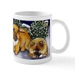 CHOW CHOW DOGS Snowman Mug