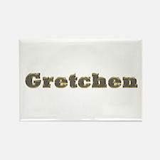 Gretchen Gold Diamond Bling Rectangle Magnet
