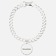 Gwendolyn Gold Diamond Bling Bracelet