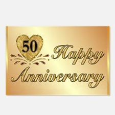 50th - Golden Anniversary Postcards (Package of 8)