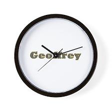 Geoffrey Gold Diamond Bling Wall Clock