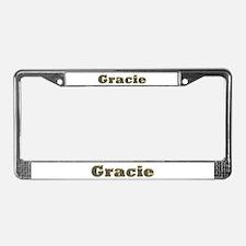Gracie Gold Diamond Bling License Plate Frame