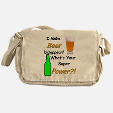 I Make Beer Disappear.. Messenger Bag