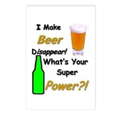 I Make Beer Disappear.. Postcards (package Of 8)