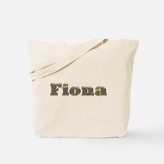 Fiona Gold Diamond Bling Tote Bag