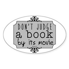 Book vs Movie Decal