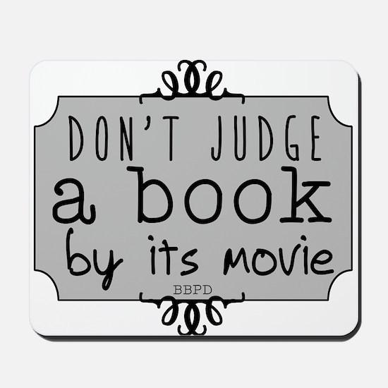 Book vs Movie Mousepad