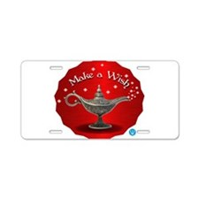The wish Aluminum License Plate