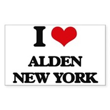 I love Alden New York Decal