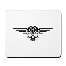 IBOHP logo black Mousepad