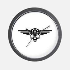 IBOHP logo black Wall Clock