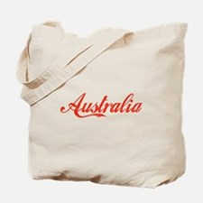 Vintage Australia Tote Bag