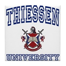 THIESSEN University Tile Coaster