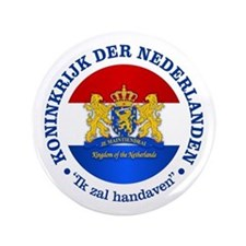 "Kingdom of the Netherlands 3.5"" Button"