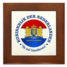 Kingdom of the Netherlands Framed Tile
