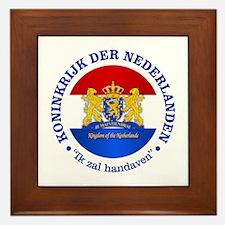Kingdom of the Netherlands Framed Tile