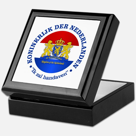 Kingdom of the Netherlands Keepsake Box