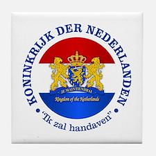 Kingdom of the Netherlands Tile Coaster
