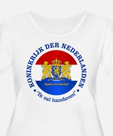 Kingdom of the Netherlands Plus Size T-Shirt