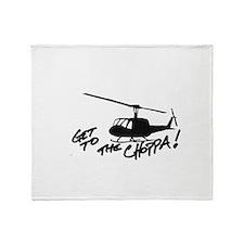 choppa Throw Blanket