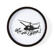 choppa Wall Clock