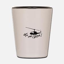 choppa Shot Glass