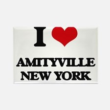 I love Amityville New York Magnets