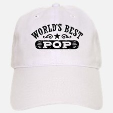 World's Best Pop Baseball Baseball Cap