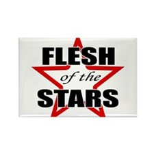 Flesh Of The Stars Rectangle Magnet