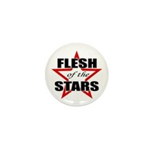 Flesh Of The Stars Mini Button
