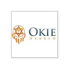 Okie Hebrew Logo 1 Sticker