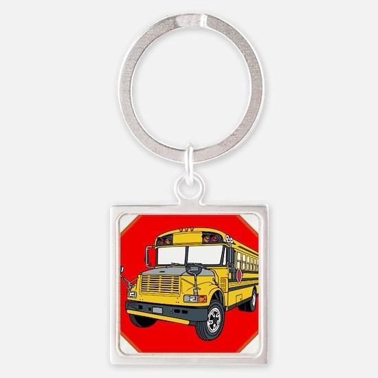 School Bus Driver Keychains