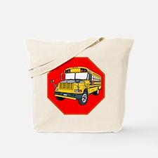 School Bus Driver Tote Bag