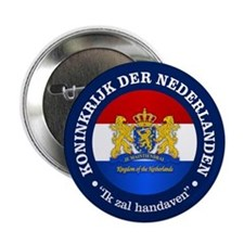 "Kingdom of the Netherlands 2.25"" Button (10 pack)"