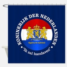 Kingdom of the Netherlands Shower Curtain