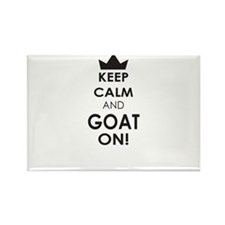 Keep Calm and Goat on Magnets