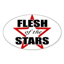 Flesh Of The Stars Oval Decal