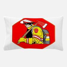 Fire Man Fire Fighter Pillow Case