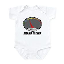 ANGER METER Infant Bodysuit