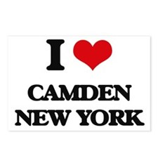 I love Camden New York Postcards (Package of 8)