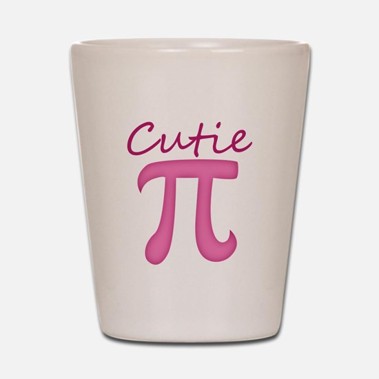 Cutie Pi Shot Glass