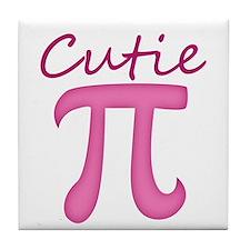 Cutie Pi Tile Coaster