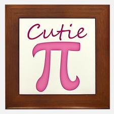 Cutie Pi Framed Tile