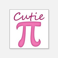 Cutie Pi Sticker