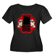Stop Texting and Driving Plus Size T-Shirt