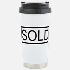 SOLD Stainless Steel Travel Mug
